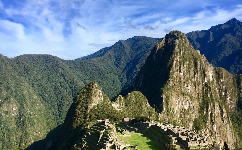 Machu Picchu and Rainbow Mountain.
